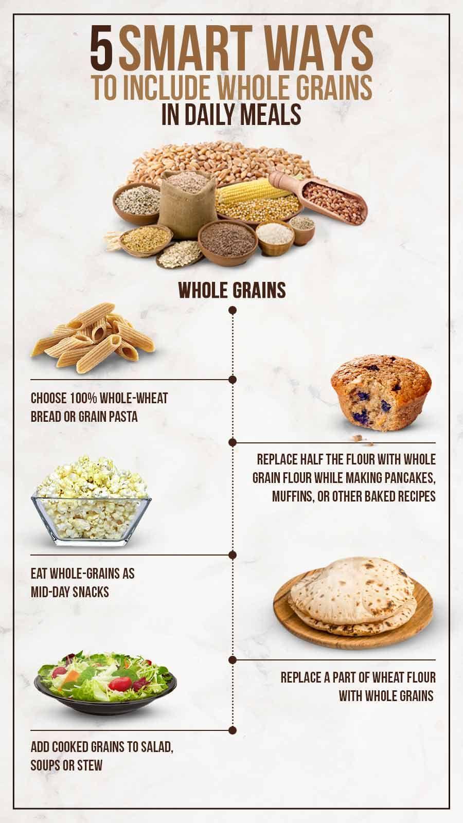Order whole grain meals online