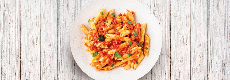 Penne Arrabiata recipe from EatSure