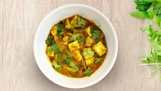 Kadai Paneer Masala with Rice meal kit and recipe from EatSure