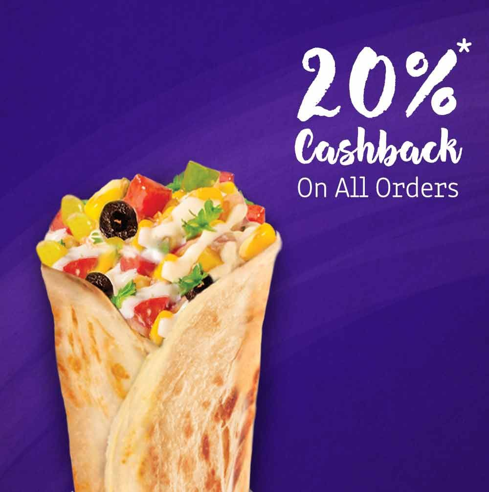 Faasos offers for new user