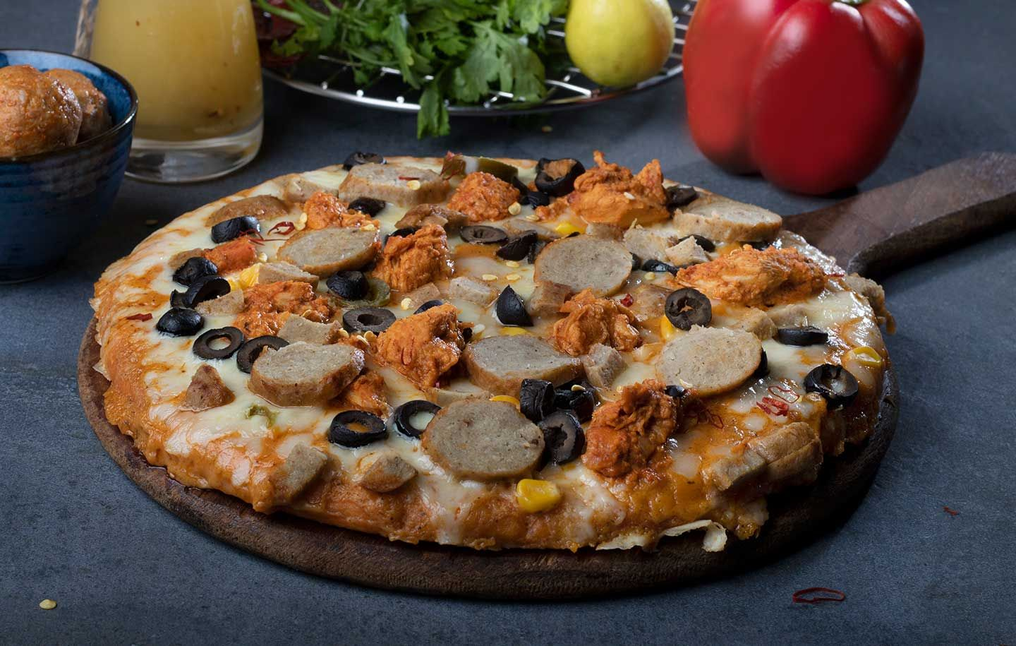 Order Chicken Pizza from Ovenstory