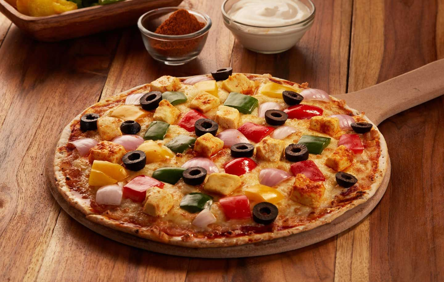 Order Veg Cheese Burst pizza from Ovenstory